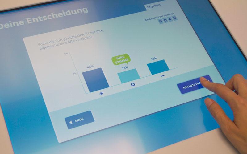User Experience - Impression EU Parlamentarium