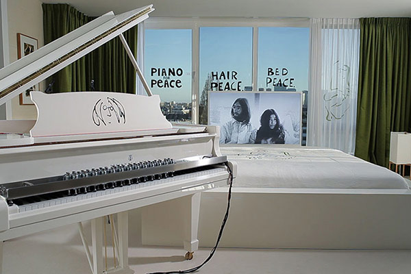 Impression Piano for Peace Setup