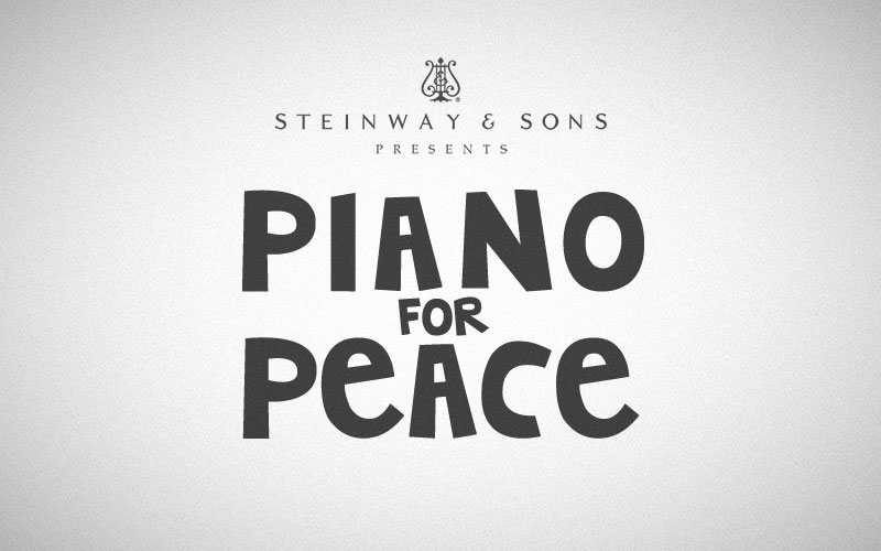 "Impression ""Steinway & Sons presents Piano for Peace"""