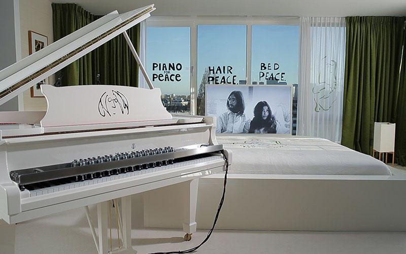 Impression Piano for Peace Setup