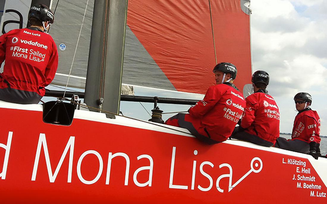 Impression - Sailing Mona Lisa via GPS