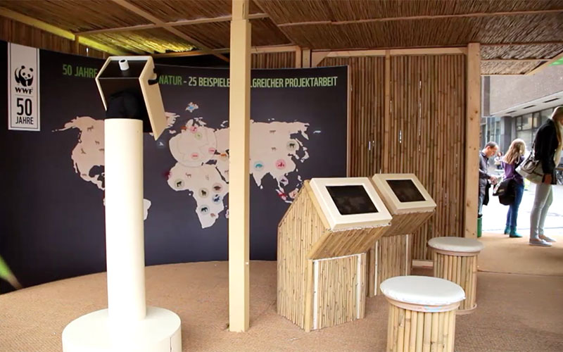 Setup - Impression WWF Roadshow