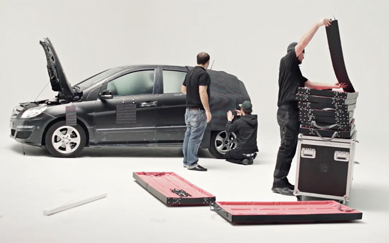 Visual Impression Making Of - Invisible Car Promotion