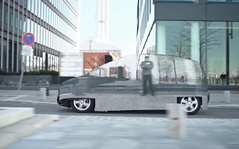 Visual Impression - Invisible Car Promotion