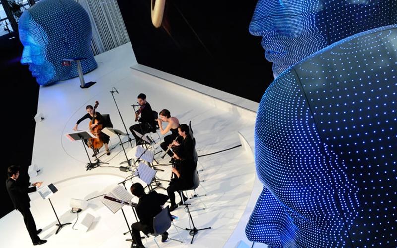 Concert Impression LED Heads