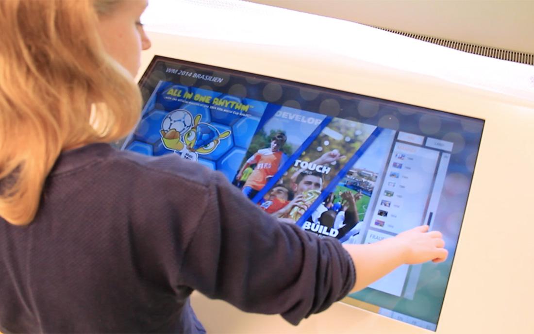 User Interaction - Impression Fifa Football Museum