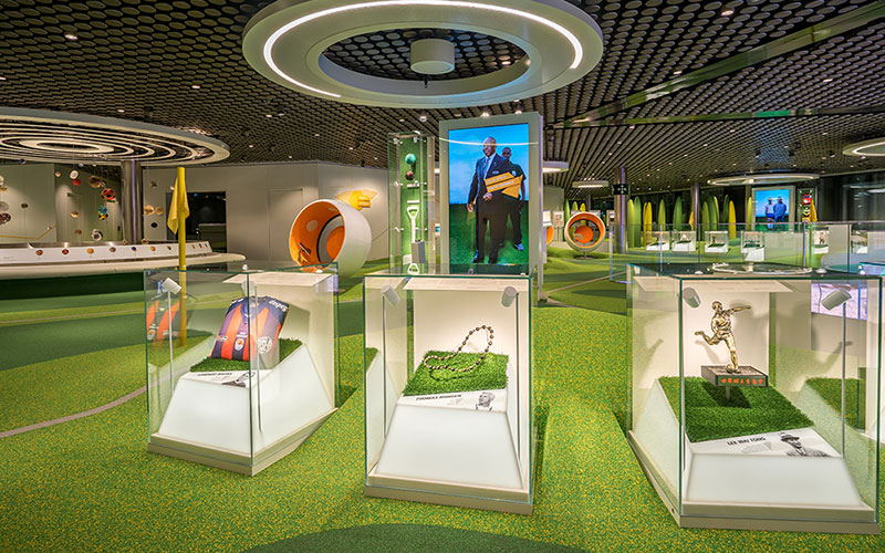 Exhibition Setup - Impression Fifa Football Museum