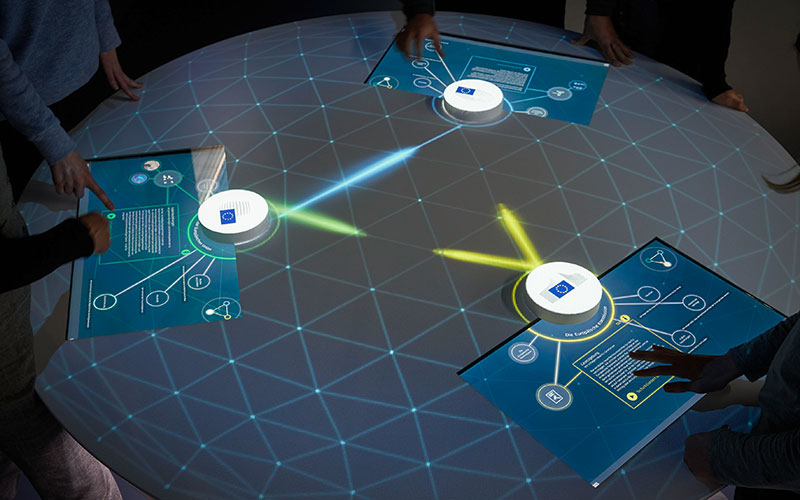 Triangle Table User Interface - Europe Experience