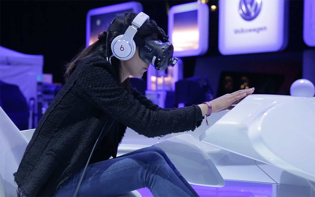 User Interaction - Volkswagen Virtual Reality Impression