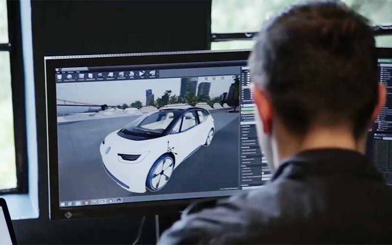 Making Of Volkswagen Virtual Reality